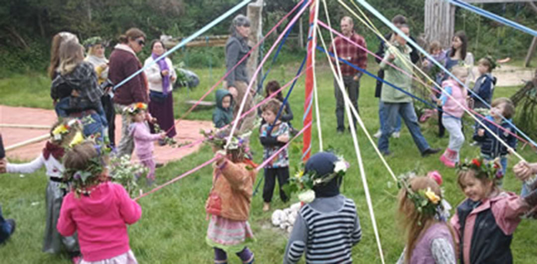 May Pole celebration Tuesday the 5th of May at the Kindergarten