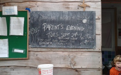 Parents Evening at the Two Rivers Kindergarten