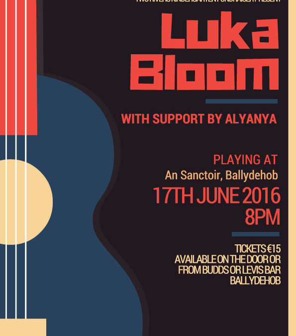 Luka Bloom Fundrasier Concert in An Sanctoir